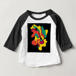 Camiseta Para Bebê Ponto colorido