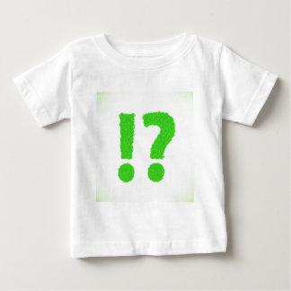 Camiseta Para Bebê ponto de interrogação