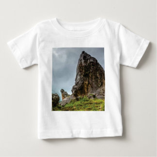 Camiseta Para Bebê ponto grande pouco ponto