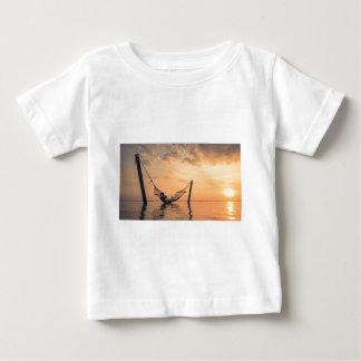 Camiseta Para Bebê Por do sol de Bali