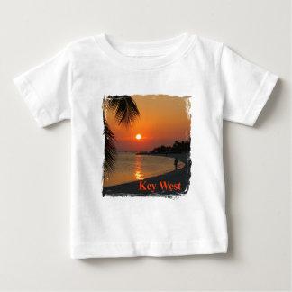 Camiseta Para Bebê Por do sol de Key West