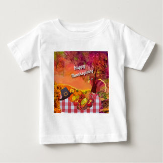 Camiseta Para Bebê Porque é esconder do peru