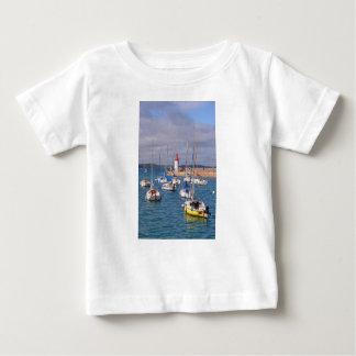 Camiseta Para Bebê Porto de Erquy em France