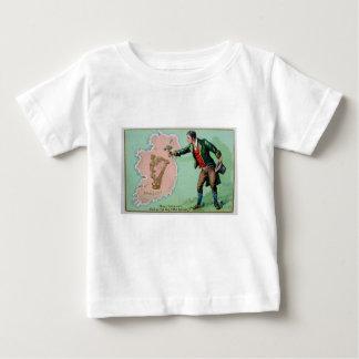 Camiseta Para Bebê Poster da ilha dos erin do dia de Patrick de santo