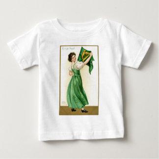 Camiseta Para Bebê Poster original da senhora da bandeira do Dia de