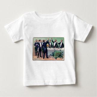 Camiseta Para Bebê Poster vintage original da bebida do dia de