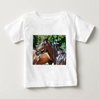 Camiseta Para Bebê Potro do império da pizza dos DOM