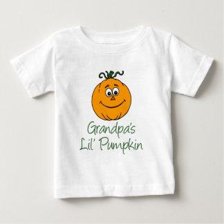 Camiseta Para Bebê Pouca abóbora do vovô