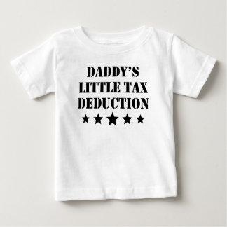 Camiseta Para Bebê Pouca dedução fiscal do pai