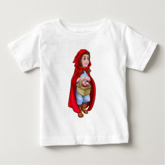 Camiseta Para Bebê Pouco caráter do conto de fadas da capa de
