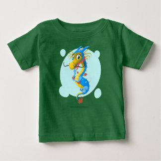 Camiseta Para Bebê Pouco dragão