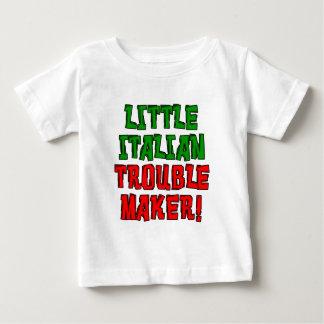 Camiseta Para Bebê Pouco fabricante de problema italiano