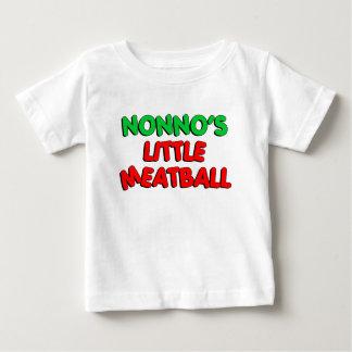 Camiseta Para Bebê Pouco Meatball de Nonno