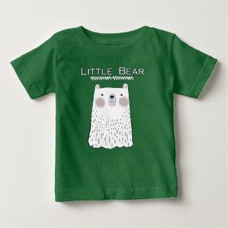 Camiseta Para Bebê Pouco t-shirt dos animais da floresta do urso