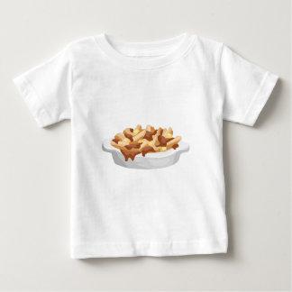 Camiseta Para Bebê poutine