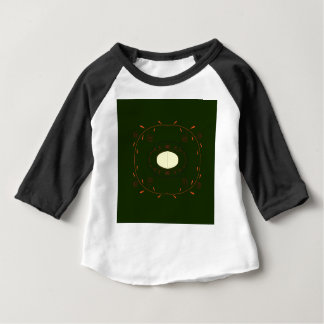 Camiseta Para Bebê Povos decorativos tirados mão da mandala