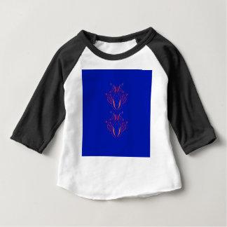 Camiseta Para Bebê Povos do azul dos elementos do design
