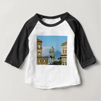Camiseta Para Bebê Praça del Plebiscito, Nápoles