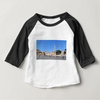 Camiseta Para Bebê Praça del Popolo, Roma, Italia