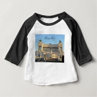 Camiseta Para Bebê Praça Venezia, Roma, Italia