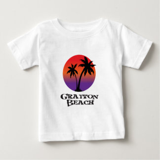 Camiseta Para Bebê Praia Florida. de Grayton