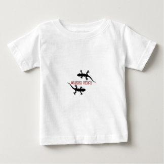 Camiseta Para Bebê praia Havaí do waikiki