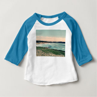 Camiseta Para Bebê Praia Newquay de Great Western