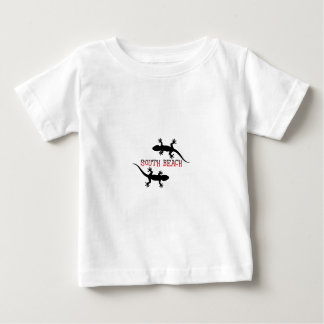 Camiseta Para Bebê Praia sul Florida.