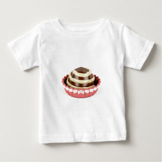 Camiseta Para Bebê Praline do chocolate