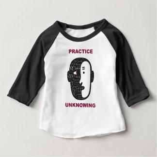 Camiseta Para Bebê Prática unknowingly