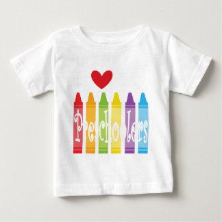 Camiseta Para Bebê pré-escolar teacher2