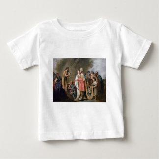 Camiseta Para Bebê Preaching de John The Baptist