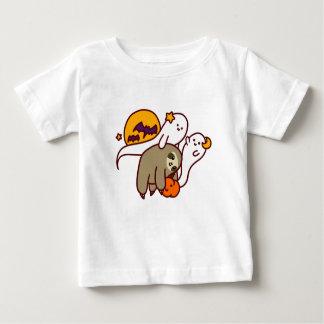 Camiseta Para Bebê Preguiça do Dia das Bruxas