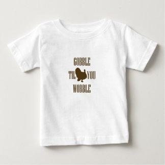 Camiseta Para Bebê Presente engraçado da acção de graças de Turquia