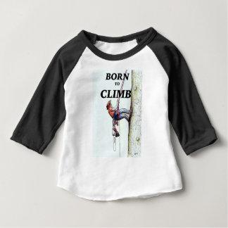 Camiseta Para Bebê Presente novo do presente do bebê do Arborist do