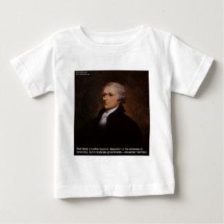 Camiseta Para Bebê Presentes de Alexander Hamilton