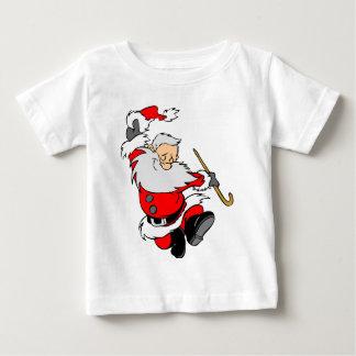 Camiseta Para Bebê Presentes do papai noel