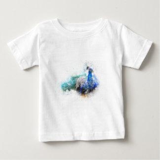 Camiseta Para Bebê Presentes do pavão