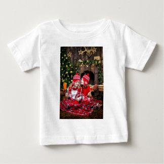 Camiseta Para Bebê Presentes festivos