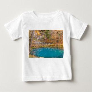 Camiseta Para Bebê Primavera azul dos becos