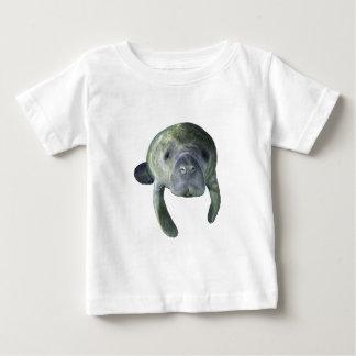 Camiseta Para Bebê Primaveras do peixe-boi
