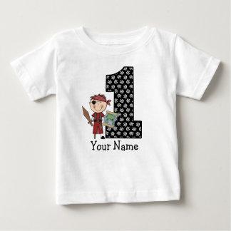 Camiseta Para Bebê Primeiro t-shirt do pirata do menino do