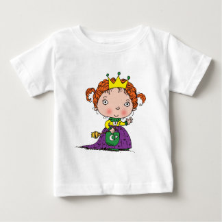 Camiseta Para Bebê Princesa