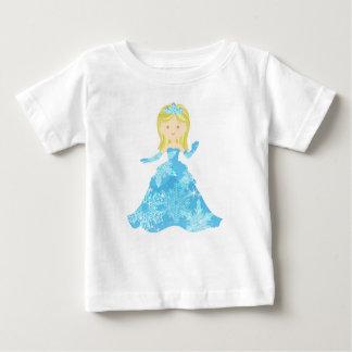 Camiseta Para Bebê Princesa do gelo