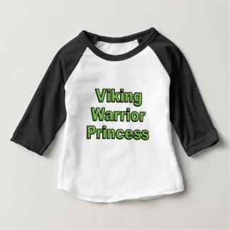 Camiseta Para Bebê Princesa do guerreiro de Viking
