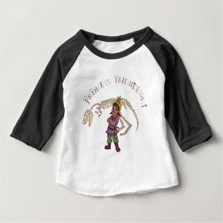 Camiseta Para Bebê Princesa Paleontologist