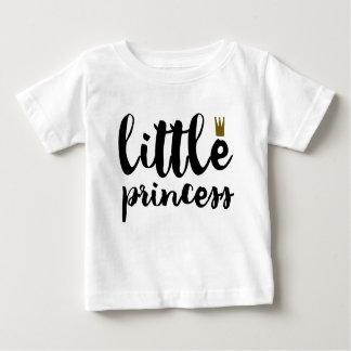 Camiseta Para Bebê Princesa pequena T-shirt