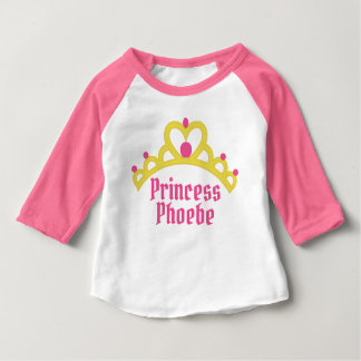 Camiseta Para Bebê Princesa personalizada da bailarina