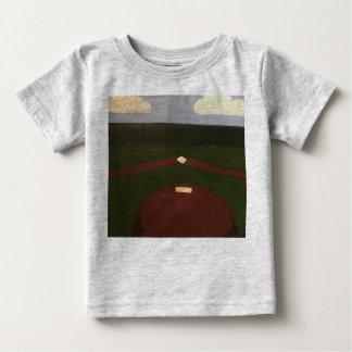 Camiseta Para Bebê Princípios do basebol