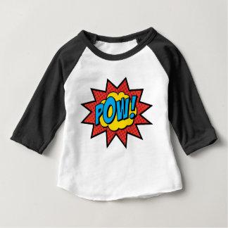 Camiseta Para Bebê Prisioneiro de guerra! T-shirt da banda desenhada